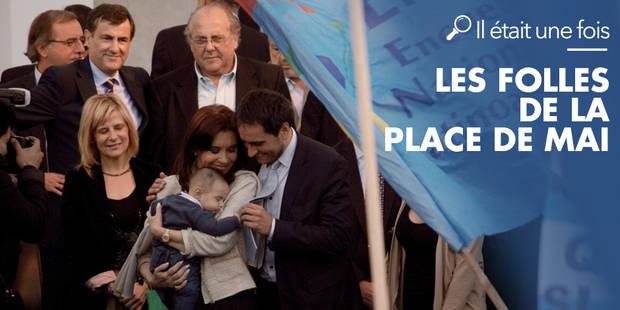 """""""Je faisais partie des 500 bébés volés par la dictature argentine, mes parents sont portés disparus"""" - La Libre"""