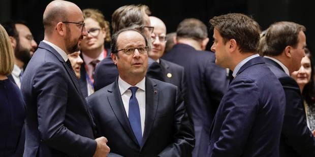 François Hollande quitte la scène européenne sans avoir marqué les esprits - La Libre