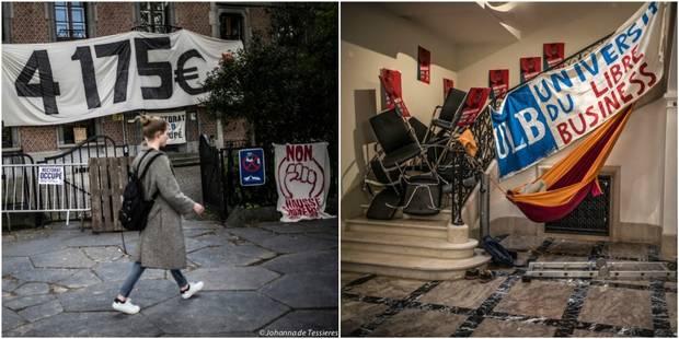 UCL et ULB: un accord trouvé, les étudiants mettent fin à l'occupation des rectorats - La Libre