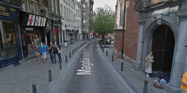 Un homme poignardé lors d'une rixe en plein centre de Bruxelles - La Libre