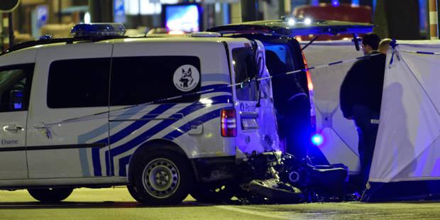Une course poursuite avec un véhicule de police avenue Louise à Bruxelles fait deux morts - La Libre