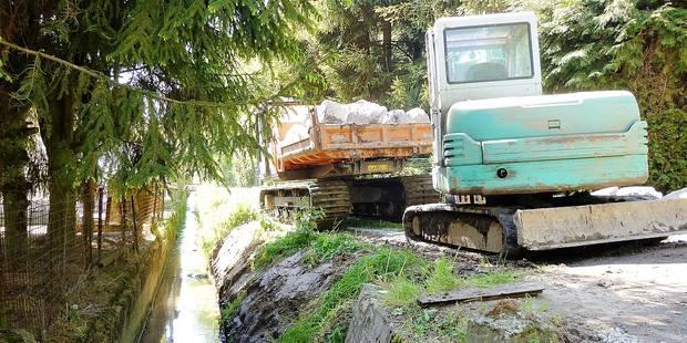 Hamme-Mille: curage des cours d'eau pour lutter contre les inondations - La Libre