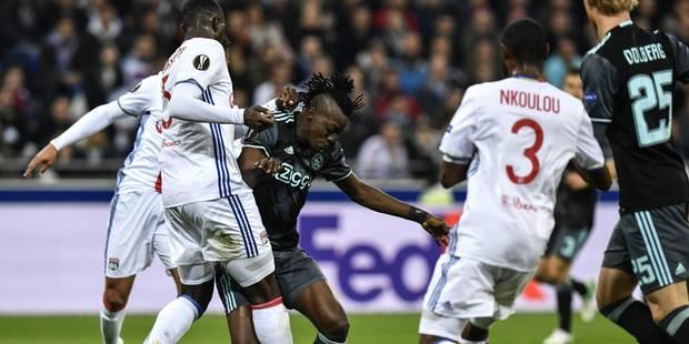 Europa League: Lyon proche de l'exploit mais c'est l'Ajax qui rejoint Manchester United en finale - La Libre