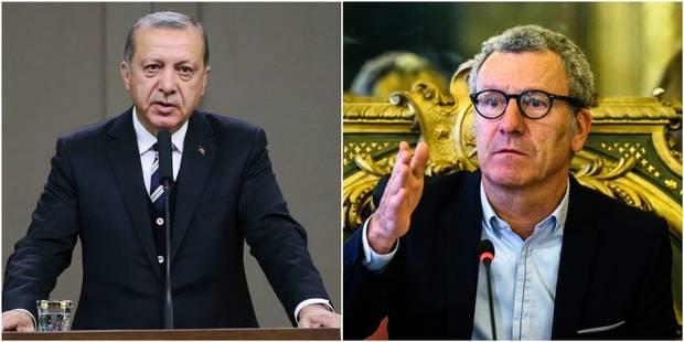 """Erdogan tacle Mayeur: """"Il ferait mieux de rendre les rues de Bruxelles plus propres"""" - La Libre"""
