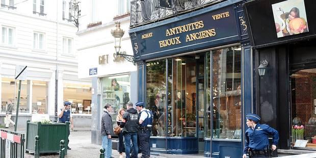 Bruxelles : l'antiquaire agressé a perdu un oeil - La Libre