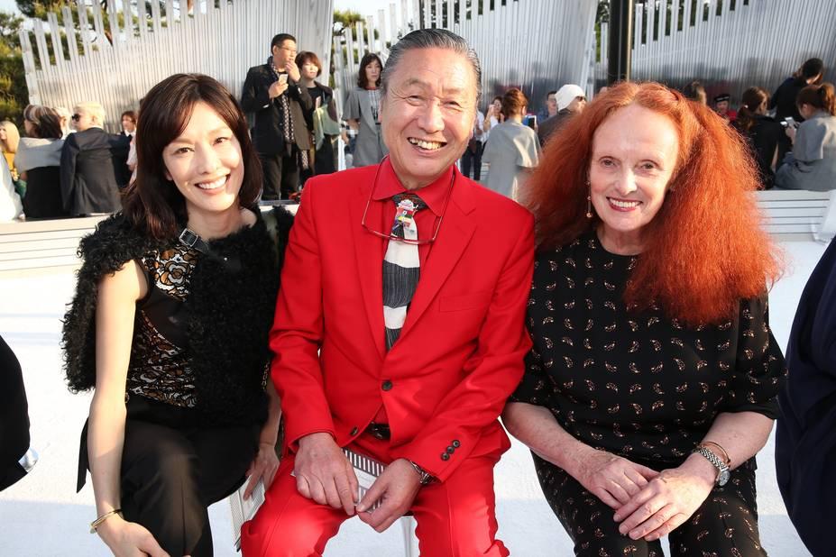 Mirai Yamamoto, Kansai Yamamoto, Grace Coddington
