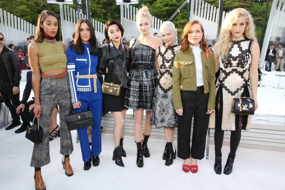 Laura Harrier, Jennifer Connelly, Fan Bing Bing, Sophie Turner, Michelle Williams, Isabelle Huppert, Riley Keough