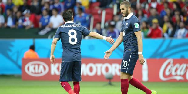 """Benzema tacle Valbuena: """"Il me rend fou à continuer de mentir"""" - La Libre"""