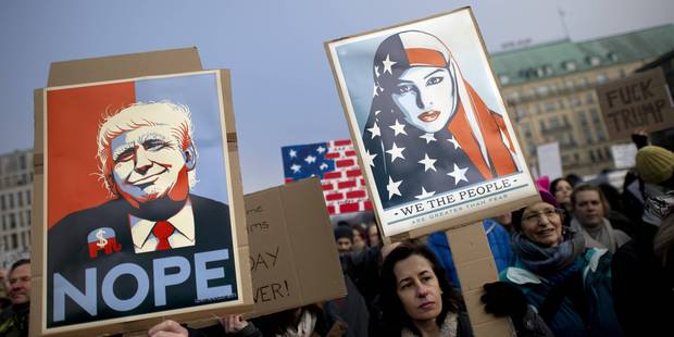 Trump à Bruxelles : les anti-Trump et les pro-Erdogan occuperont l'espace - La Libre