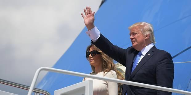 Trump à Bruxelles: l'avion présidentiel flashé par les sonomètres? Fremault ne se gênera pas d'envoyer une amende à la M...