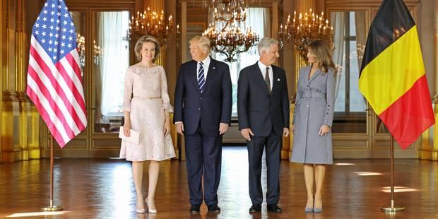 Le président américain rencontre le roi Philippe, avant le Premier ministre - La Libre