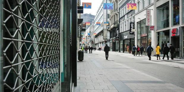 Les travaux de réaménagement de la rue Neuve à Bruxelles commenceront lundi - La Libre
