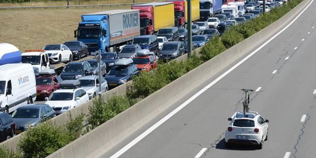 Embouteillages importants en direction de la mer: vous perdez 1h30 entre Bruxelles et Ostende - La Libre