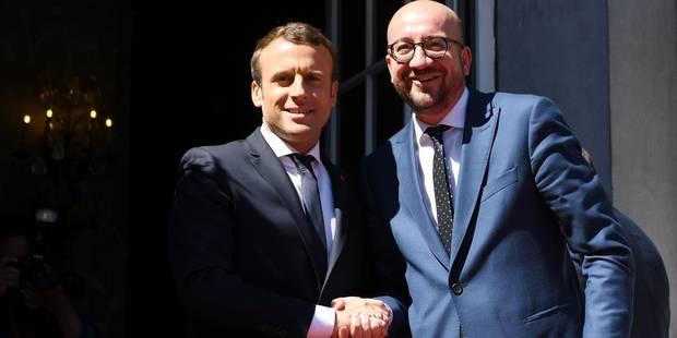 """Emmanuel Macron à Charles Michel: """"La refondation de l'Union est la responsabilité de notre génération"""" (VIDEO) - La Lib..."""