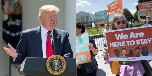L'administration Trump saisit la Cour suprême pour rétablir son décret anti-immigration - La Libre