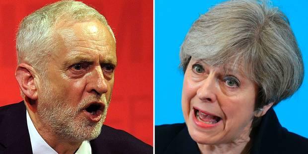 Législatives au Royaume-Uni: début du vote, la continuité avec Theresa May ou la révolution avec Jeremy Corbyn? - La Lib...
