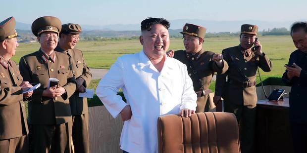 La Corée du Nord tire une salve de missiles en mer - La Libre