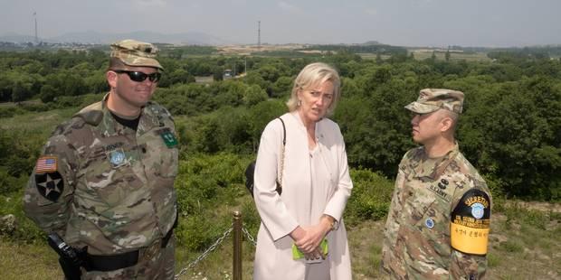 La Princesse Astrid à la frontière de la Corée du Nord - La Libre