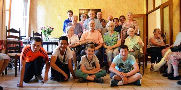 Tournai: Zoom sur une amitié sans limite d'âge - La Libre