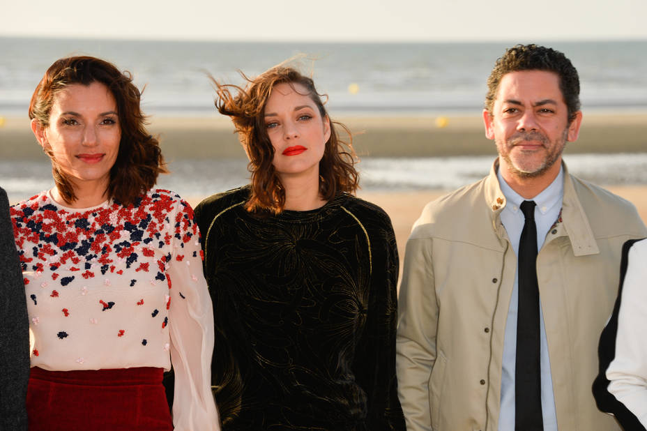 Aure Atika, Marion Cotillard, Manu Payet qui la joue inspecteur Gadget !