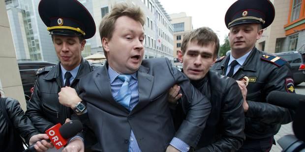 """Moscou condamné pour sa loi contre la """"propagande"""" homosexuelle devant des mineurs - La Libre"""