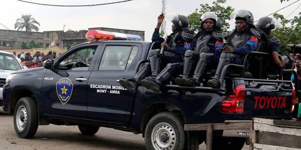 Un commissariat de police attaqué à Kinshasa: Un mort et quatre policiers blessés - La Libre