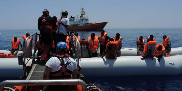 Débordée par les arrivées de migrants, l'Italie met l'Europe en demeure d'agir - La Libre