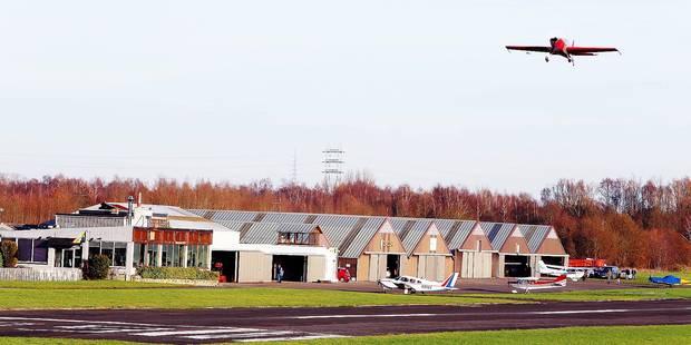 Idea garde un oeil sur l'aérodrome à Saint-Ghislain - La Libre