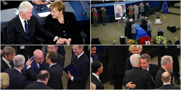 Le monde politique rend hommage à Helmut Kohl au parlement européen (PHOTOS) - La Libre