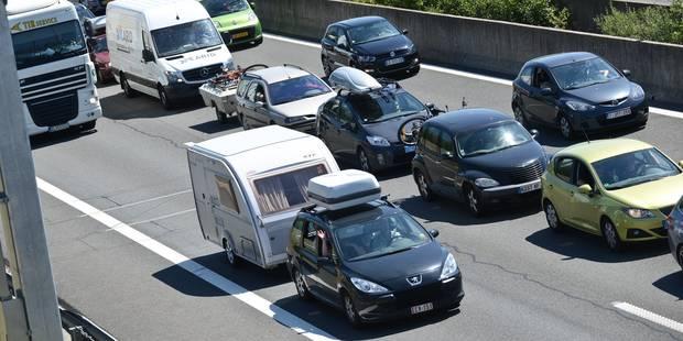 Départ en vacances: voici les axes routiers à éviter ce week-end - La Libre