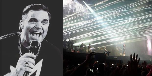 Le charme de Robbie Williams a opéré sur la plaine de Werchter (PHOTOS + VIDÉO) - La Libre