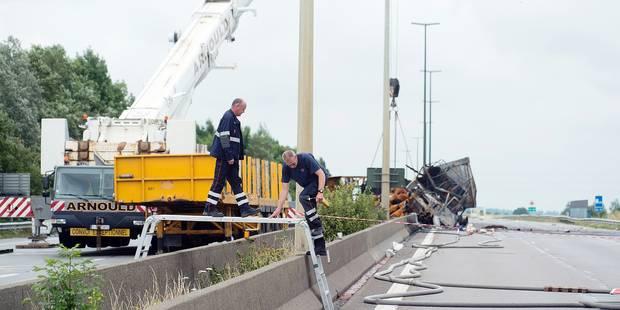 Accidents de camions: Après l'E411, c'est au tour de l'E19 d'être fermée en direction de Bruxelles - La Libre
