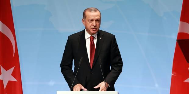 """Erdogan poursuivi en Suède pour """"génocide"""" - La Libre"""