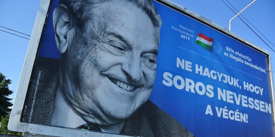 Une campagne anti-Soros rappelle des
