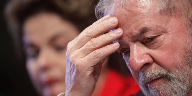Brésil: Lula condamné à 9 ans et 6 mois de prison pour corruption - La Libre