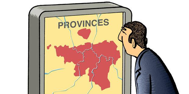 Il faut un projet pour les provinces... ou pour leur reconfiguration(OPINION) - La Libre