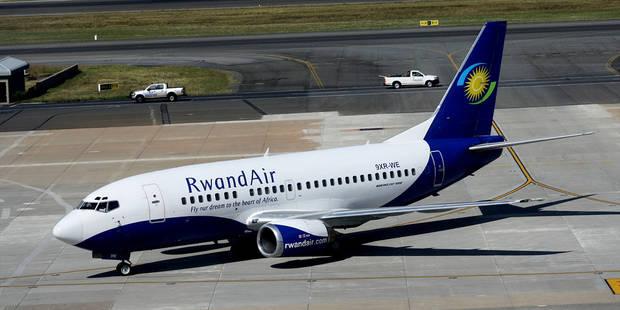 RwandAir rate son premier vol depuis Bruxelles - La Libre