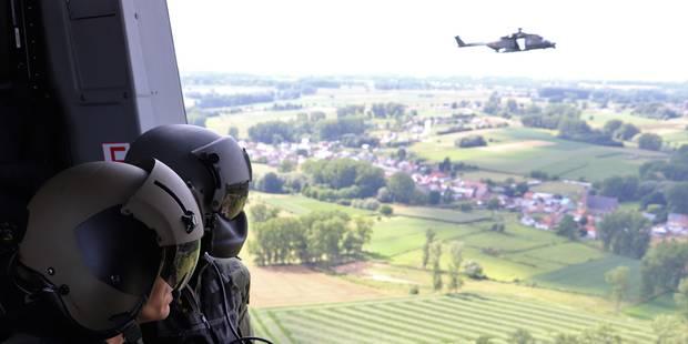 """21 juillet: """"Le défilé aérien est calculé à la seconde près"""" (VIDEO) - La Libre"""