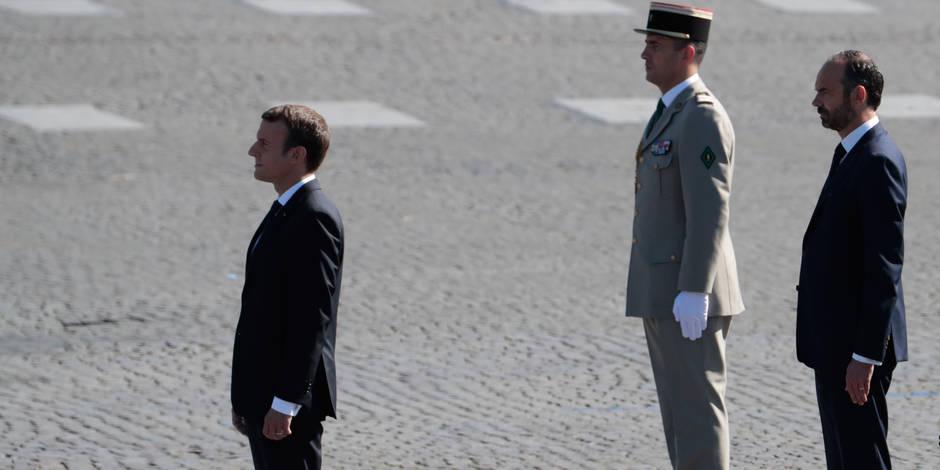 Une popularité en baisse — Emmanuel Macron