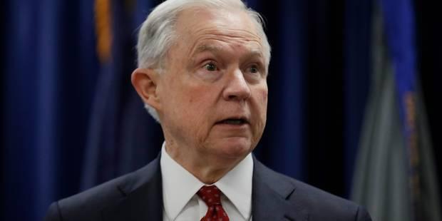 Le ministre américain de la Justice humilié par Trump - La Libre