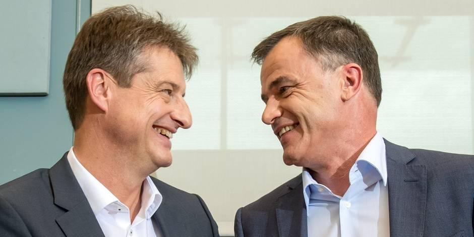 Un nouveau ministre-président pour la Wallonie, Willy Borsus — Belgique
