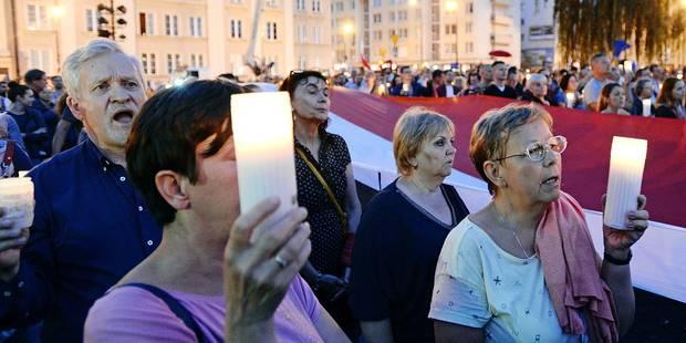 La Pologne dispose d'un mois pour revenir dans le rang - La Libre