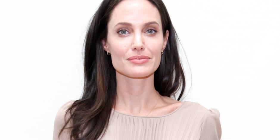 Angelina Jolie en colère: