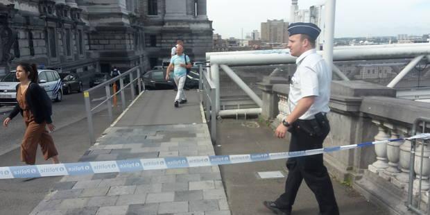 Le périmètre de sécurité au palais de Justice de Bruxelles levé - La Libre
