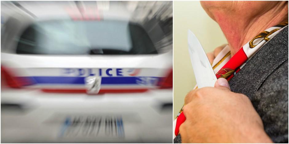 Défigurée au couteau dans la rue — Paris