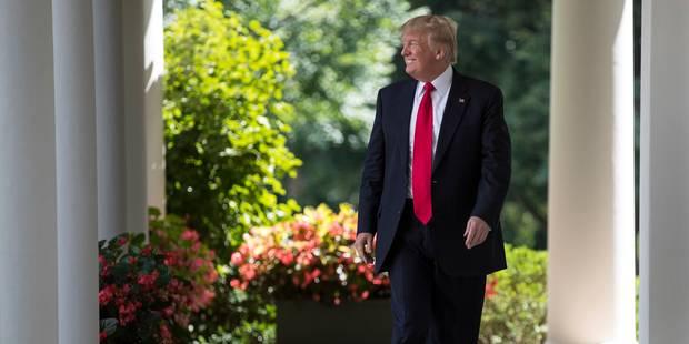 """Donald Trump: le """"chaos"""" ne règne pas à la Maison Blanche - La Libre"""