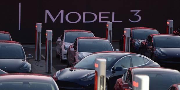 """En pleine euphorie sur le """"Model 3"""", Tesla subit une offensive syndicale - La Libre"""