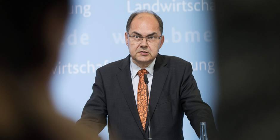 Christian Schmidt, le ministre allemand qui tance la Belgique - La Libre