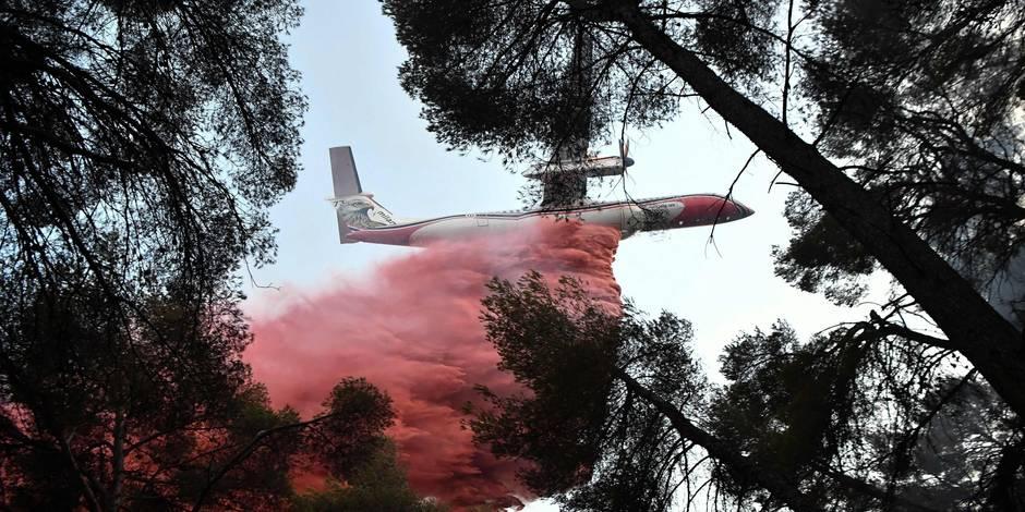 Bouches-du-Rhône : l'incendie de Port-de-Bouc a parcouru 30 hectares