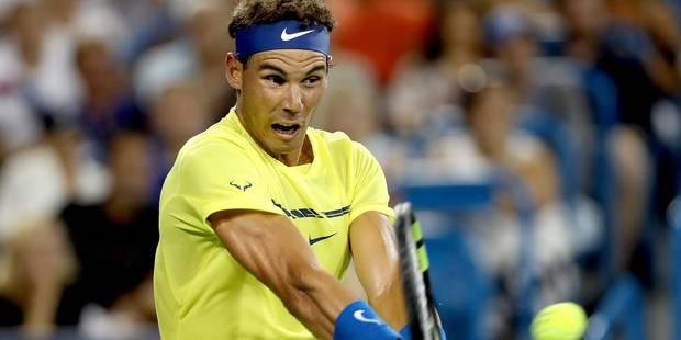 Cincinnati: Muguruza en demi-finales, Nadal a rendez-vous avec Kyrgios - La Libre
